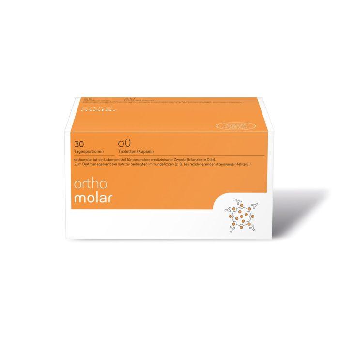 Orthomed Orthomolar Tabletten Kapseln 30er