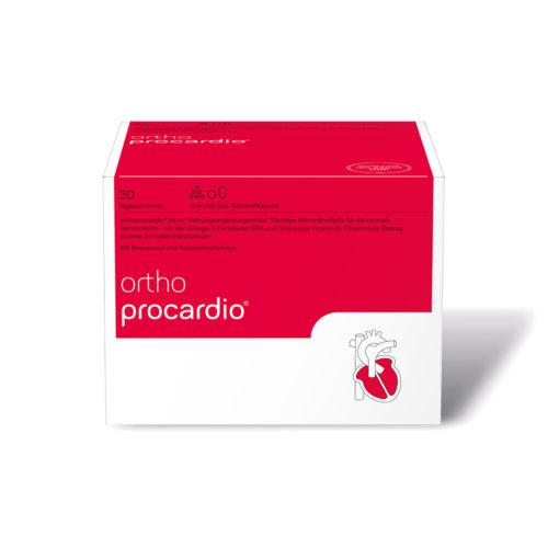 orthomed orthoprocardio Granulat und Kapseln 30er