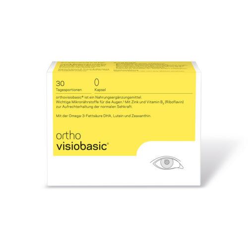 orthomed orthovisiobasic® Kapseln 30er